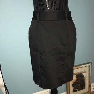 White House Black Market pencil skirt with slit